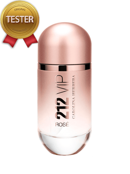 Carolina Herrera 212 Vip Rose EDP 80мл - Тестер за жени